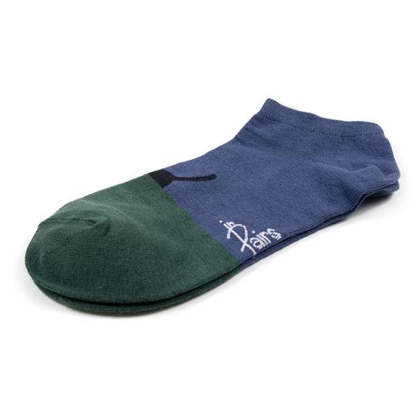 MIT 船型襪 一半更可愛‧路過貓咪紅(女襪)