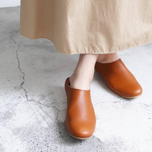 【訂製】世界系列_日本製Recipe 2穿休閒穆勒鞋/駝