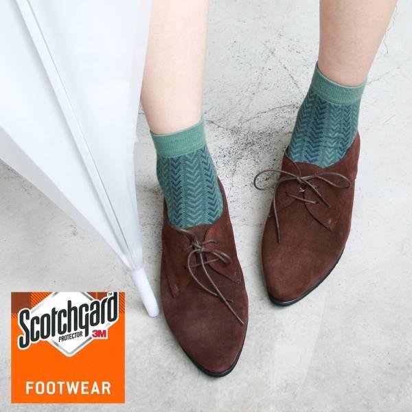 【訂製】3M防潑水技術,晴雨兩穿真皮綁帶鞋-深棕