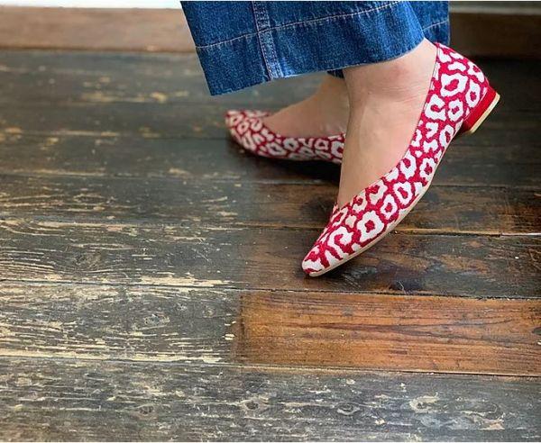 【訂製】ETOILE日本製尖頭低跟鞋