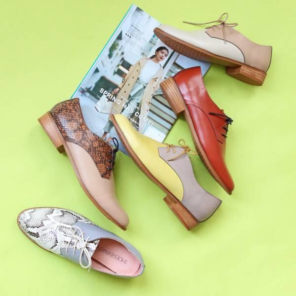 【手工訂製】【自行配色】3.0再改版款_腳型更修長經典德比鞋