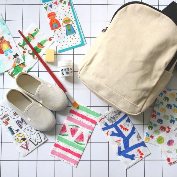 【現貨】蝶古巴特DIY後背包組_從小培養孩子的品味與美感
