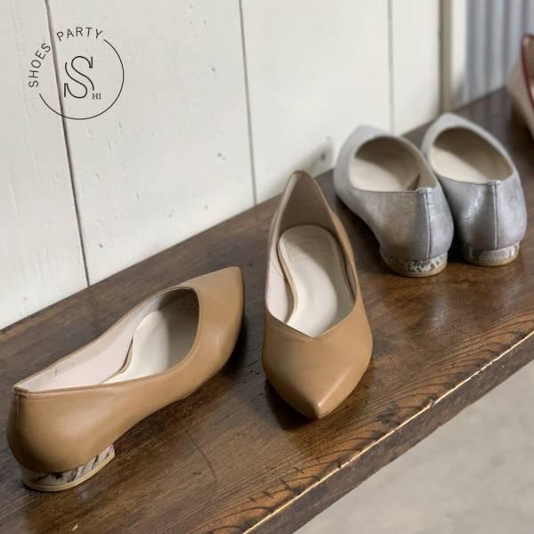 【手工訂製】【西喜聯名】_ETOILE 日本製尖頭低跟鞋