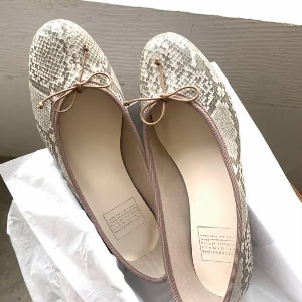【手工訂製】【人氣色】FIKA日本製晴雨兩穿圓頭芭蕾舞鞋