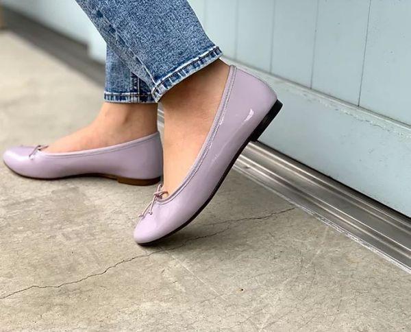 【訂製】FIKA日本製晴雨兩穿圓頭芭蕾舞鞋