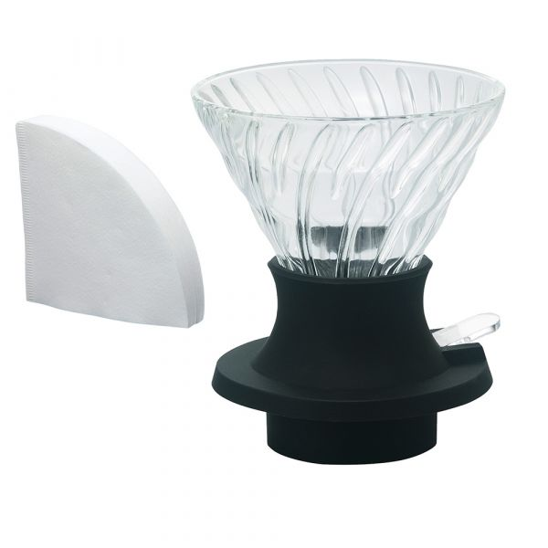 【咖啡市集精選】 日本製造 HARIO 浸漬式玻璃濾杯 SSD-200-B coffeemart,濾杯,手沖濾杯,錐形濾杯,日本製造進口,錐形玻璃聰明濾杯,錐形聰明濾杯,咖啡市集