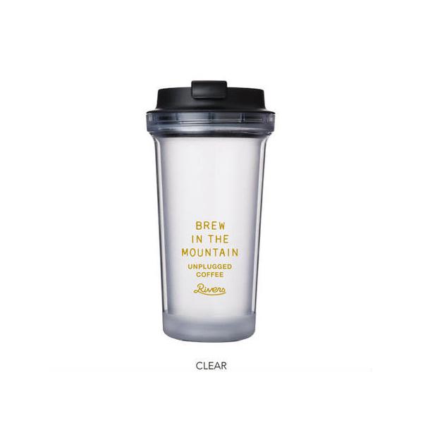 【咖啡市集精選】 日本RIVERS 冷萃咖啡隨行杯  RIVERS WALLMUG BEARL COLD BREW coffeemart,冷萃杯,冰咖啡,隨行杯,RIVERS,COLDBREW,冷萃咖啡,咖啡市集