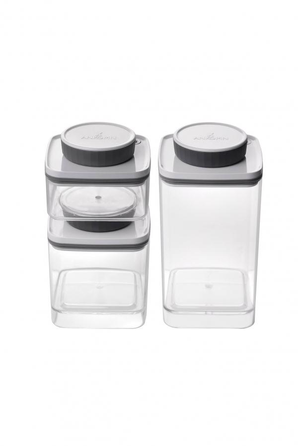 Ankomn Turn-n-Seal 真空保鮮盒 0.3L + 0.6L + 1.2L coffeemart,食物保存,Turn-n-Seal,咖啡粉保存,保鮮盒,真空保鮮,氣密盒,新鮮咖啡豆,Ankomn,咖啡市集