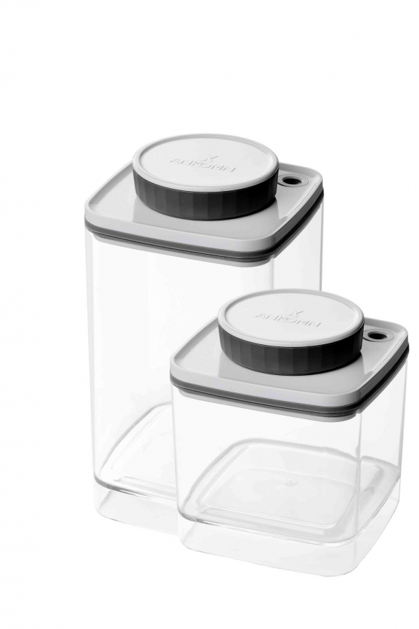 Ankomn Turn-n-Seal 真空保鮮盒 0.6L + 1.2L coffeemart,食物保存,Turn-n-Seal,咖啡粉保存,保鮮盒,真空保鮮,氣密盒,新鮮咖啡豆,Ankomn,咖啡市集