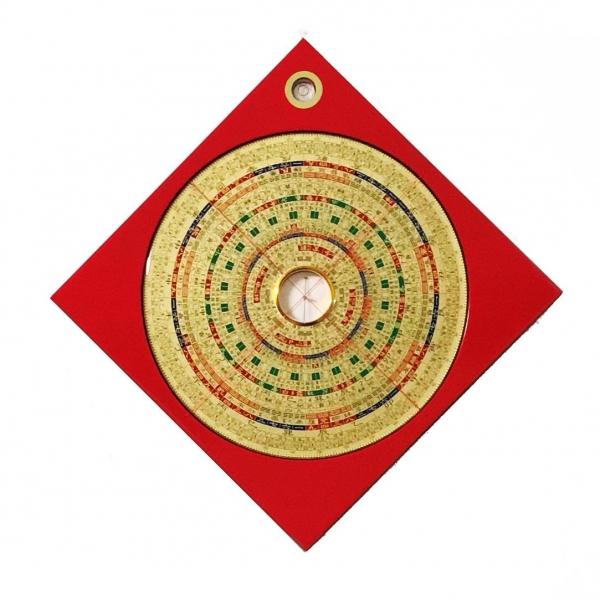葫蘆墩三元風水羅盤(七寸二)