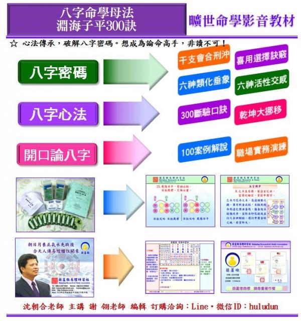 八字命學母法淵海子平300訣 影音函授教材(下冊)