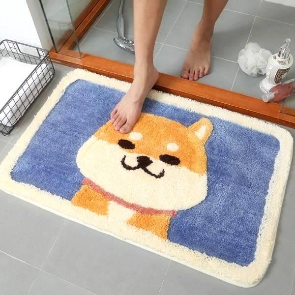 柴犬浴室吸水地墊 柴犬,浴室,吸水,地墊,地毯,狗,寵物