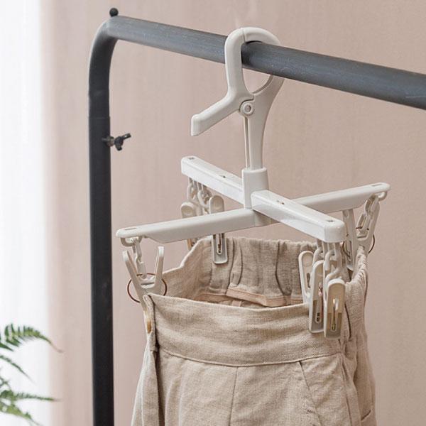 可伸縮通風晾褲架 多夾,晾曬,架,內衣,內褲,襪子,陽台,晾衣服,通風,加大面積,快乾
