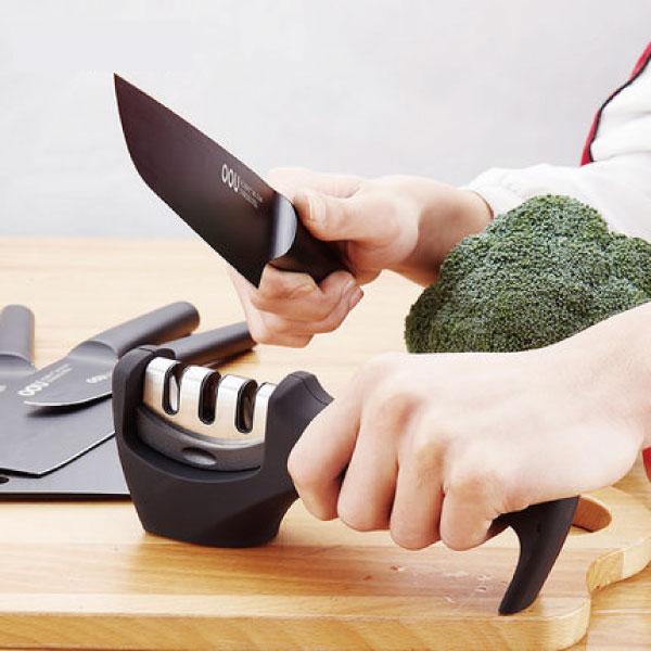 三段位磨刀器 磨刀,刀具,不鏽鋼,耐用,三段位,廚房