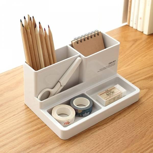 多功能收納盒 桌面,收納,盒,置物,化妝,整齊,文具,雜物,客廳