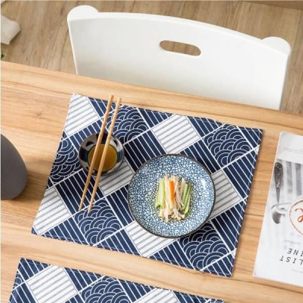 浮世繪印花餐墊 浮世,繪印,花,餐墊,日式,用餐,餐廳
