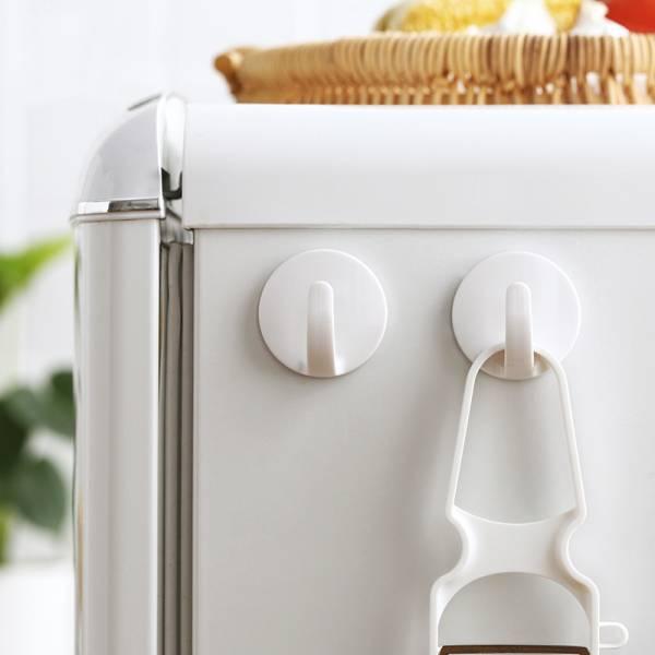 磁吸式冰箱掛鉤(2入) 磁吸,冰箱,洗衣機,收納,磁鐵掛鉤,家庭
