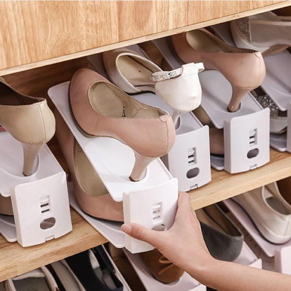可調節雙層鞋架