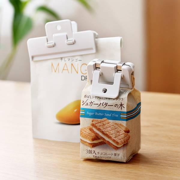 零食封口夾-小號(2入) 零食,封口,夾,密封,麵包,袋,食品