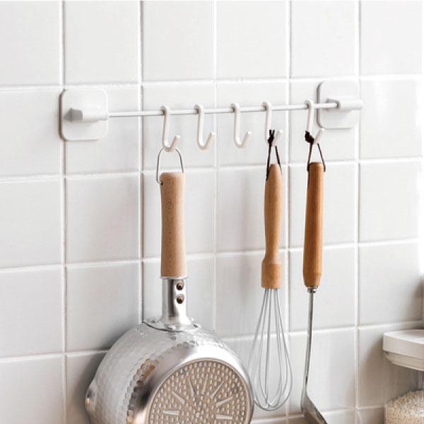 浴室廚房置物掛架 浴室,廚房,收納,掛架,免釘,無痕膠,掛鉤,吊掛,可活動