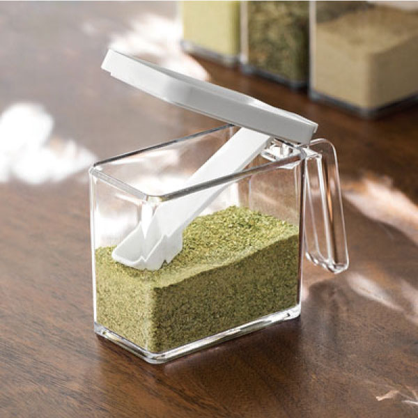翻蓋調味盒 調味盒,密封,按壓,廚房,料理,美味,方便,日式