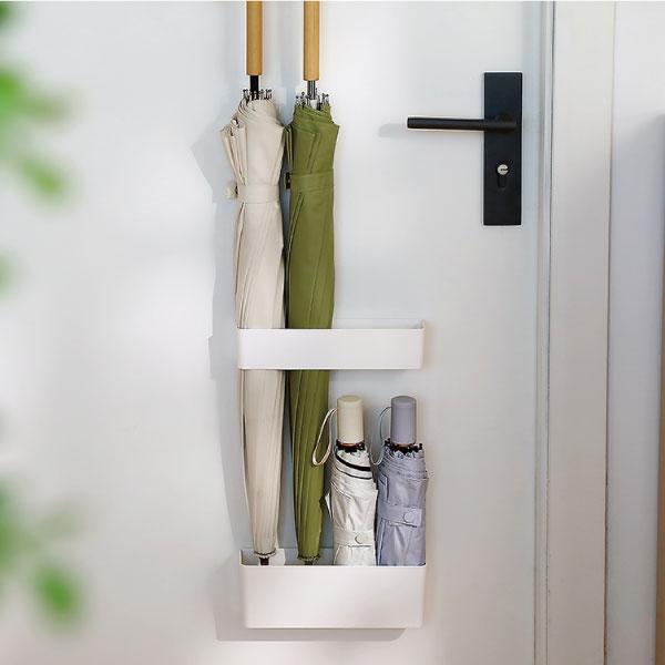 壁貼式雨傘架 雨傘,壁貼式,雨天,不傷牆,乾爽,收納,瀝水,玄關,美觀
