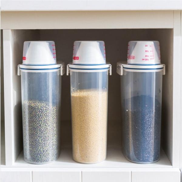 手提式儲米罐(3入) 手提式,儲米,罐,五穀,雜糧,密封,防潮,計量