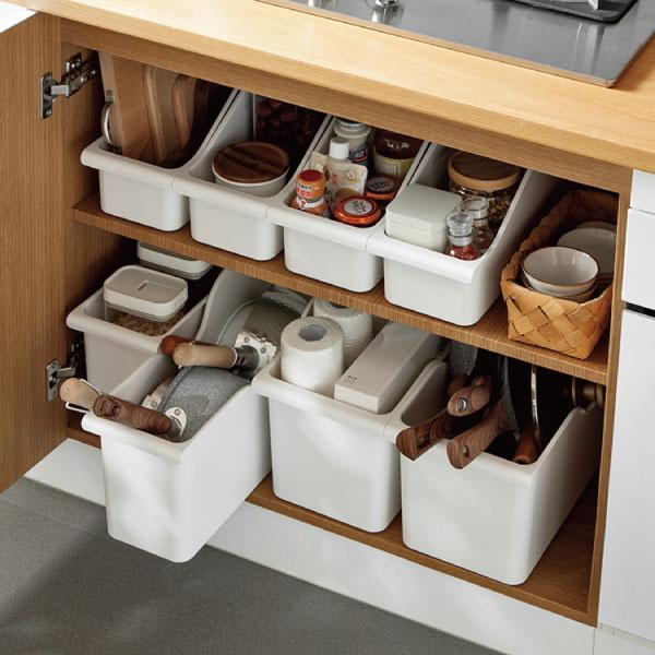 廚房滑輪收納盒