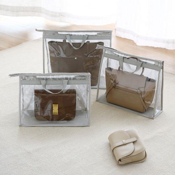 透明包包防塵收納袋(3入組) 透明,包包,防塵,收納,袋,手提包,防潮