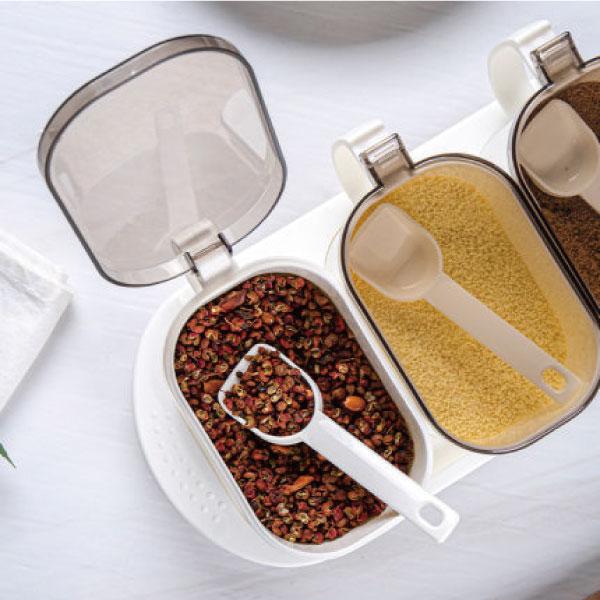 翻蓋調味三入套組 翻蓋,調味,三入組,調味罐,鹽,味精,廚房