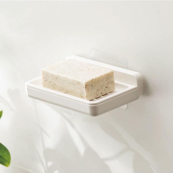 香皂壁掛盒 香皂,肥皂,瀝水,壁掛,收納,廚房,廁所,置物,防滑,不積水