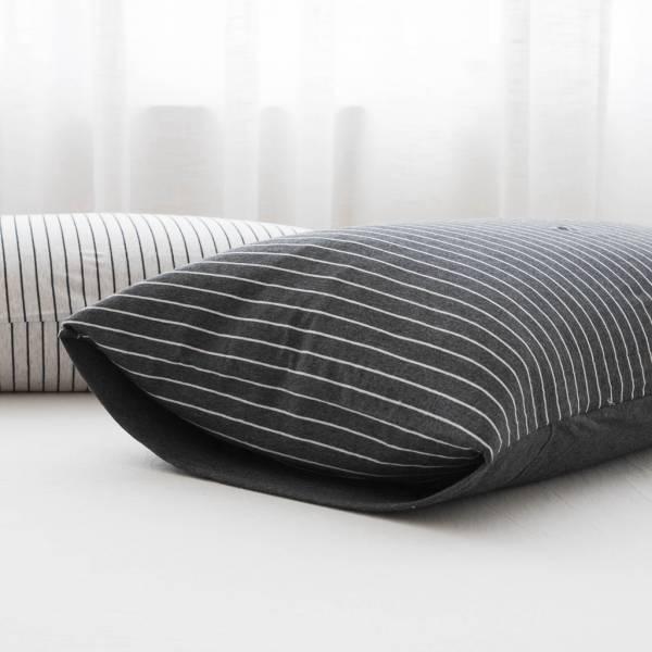 天竺棉枕頭套(2入) 天竺棉,床包,組,換季,塵蟎,純綿,床,棉被,枕頭,床墊