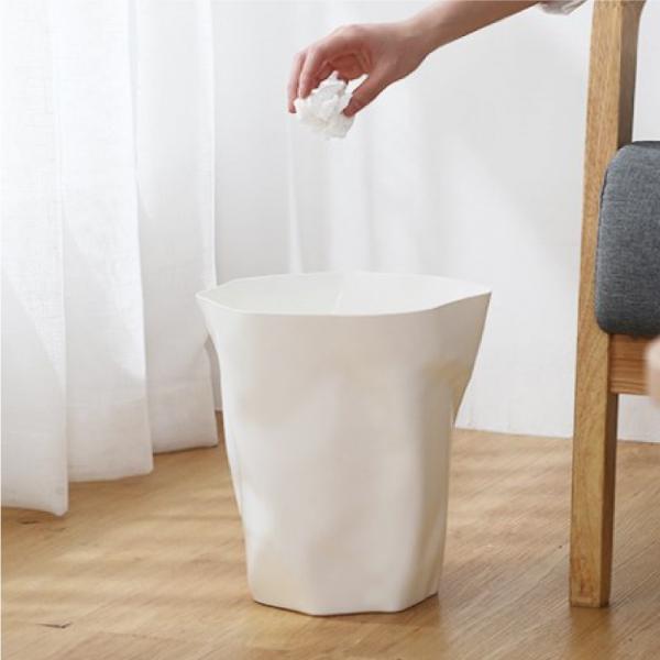 北歐揉皺垃圾桶 北歐,揉皺,垃圾,桶,衛生紙,居家