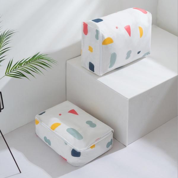 幾何棉被袋 幾何,棉被,袋,收納,被單,箱,防潮