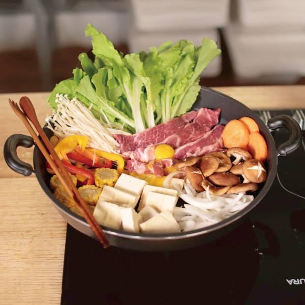 遠紅外線不沾鍋-壽喜燒鍋(40cm)