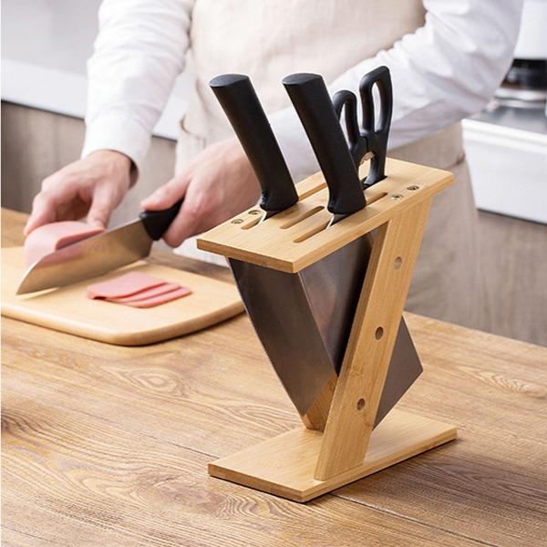 楠竹刀具架 楠竹,刀具,架,廚房,家庭主婦,廚房,家庭主婦,水果