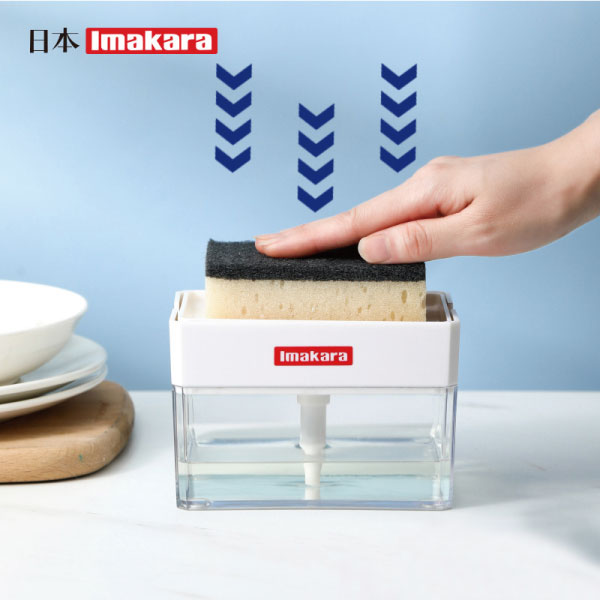 洗碗神器-按壓出液盒