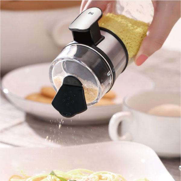 定量5克撒鹽罐 定量,5克,撒鹽,罐,調味,粉,胡椒,廚房