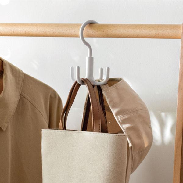 小章魚旋轉掛鉤 小章魚,掛鉤,收納,皮帶,領帶,包包,服飾配件,衣櫃