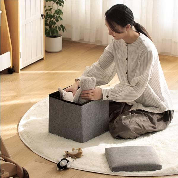 儲物收納椅凳 收納,椅墊,儲物,一物兩用,省空間,可折疊,體積小