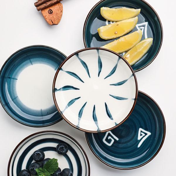 日式釉彩小碟 日式,釉彩,小碟,手繪,醬料,火鍋