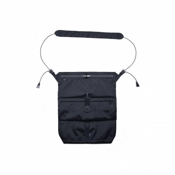 oqLiq 2021SS - natural blessing - side sacoche bag - black