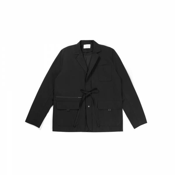 oqLiq 2021AW - Nature's Blessing - noragi two way suit - black