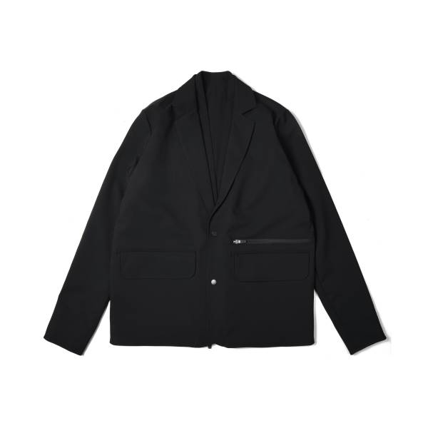 oqLiq x plain-me noragi two way suit - black