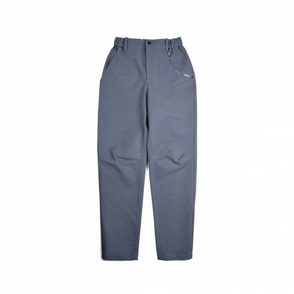 oqLiq 2020AW - omni direction - bow pants - gray
