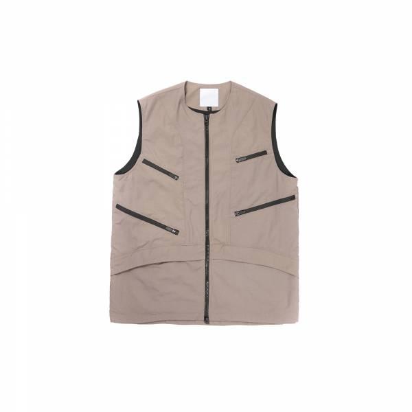 oqLiq 2021SS - natural blessing - non vest+ - khaki