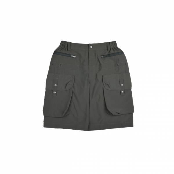 oqLiq 2021SS - natural blessing - gen shorts - olive