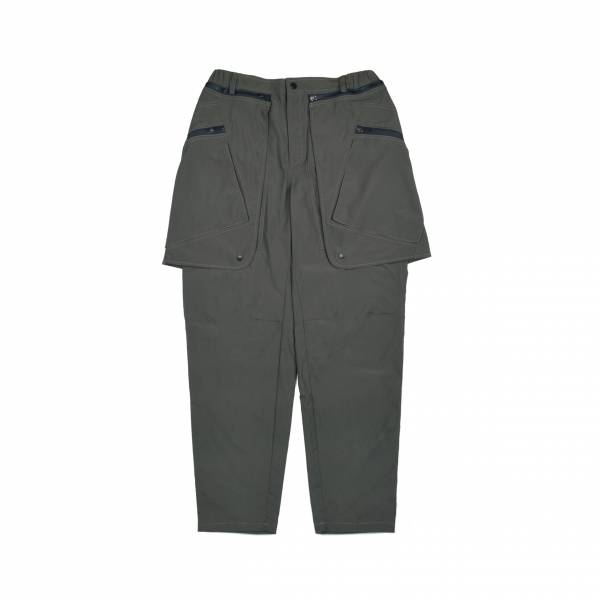 oqLiq 2021SS - natural blessing - mutual two way pants - olive