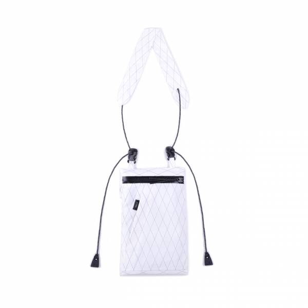 oqLiq 2019SS - Dualism - river sacoche bag mini - white