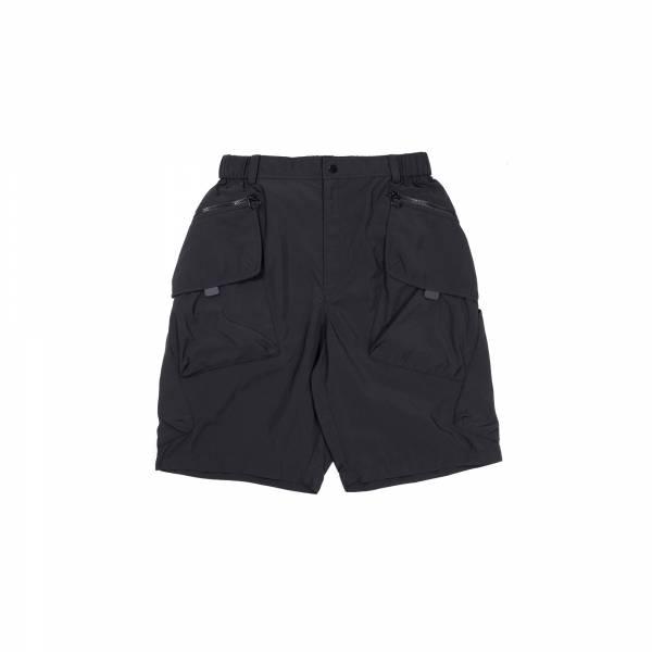 oqLiq 2021SS - natural blessing - tai chi pocket shorts - black